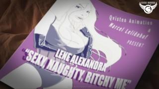 "Lene Alexandra music video: ""Sexy Naughty Bitchy Me"""